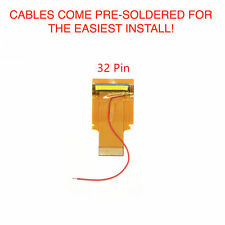 Nintendo Game Boy Advance Cable Backlight Backlit Adapter AGS 101 32 PIN