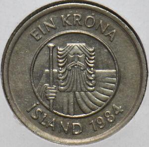 Iceland 1984 Krona Fish animal 902567 combine shipping
