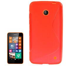 Softcase per Nokia Lumia 630 635 Rosso