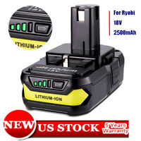 For Ryobi P102 18V 2.5Ah Battery Max Lithium-ion ONE+ Plus P103 P104 P107 P190