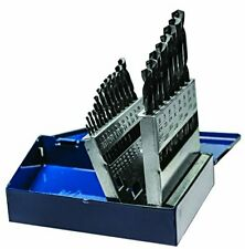 Century Drill & Tool 24021 Black Oxide Drill Bit Set with Index, 21-Piece