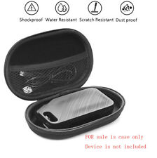 Portable Travel Soft Case for Plantronics Voyager 5200/5210 HD Bluetooth Headset