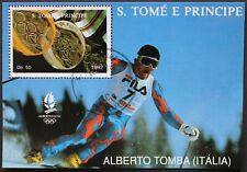 "Sao Tome e Principe: Michel Block-Nr. 273 ""Olymp. Winterspiele´92"" 1992, gest."