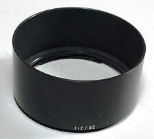 Carl Zeiss ZM Sonnar 85mm f/2 Leica M Mount Lens Metal Shade Hood