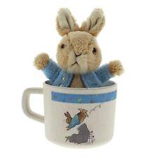 Beatrix Potter A28837 Peter Rabbit Organic Bamboo Mug and Soft Toy Gift Set
