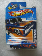 Hot Wheels 2012 - CUSTOM '62 CHEVY - V5458 - Heat Fleet #4 - Non-Mint Card