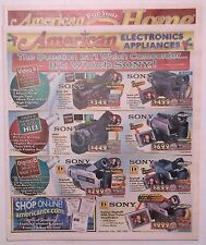 AMERICAN ELECTRONICS 1999 Christmas 30 page NEWSPAPER INSERT ~ Appliances ~ ADS