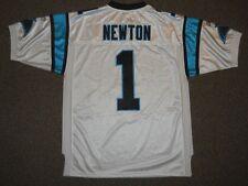 Cam Newton Carolina Panthers White Authentic Jersey Reebok sz 52 Mens New