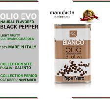 Extra virgin olive oil ITALY  Olio extra vergine di oliva PUGLIA  PEPE NERO