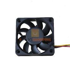 60x60x15mm 60mm 6cm 3 Pin 12V Case Computer PC Cooler Cool Cooling Fan Black