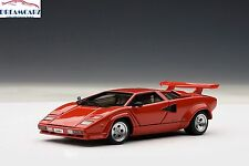 AUTOart 54531 1:43 Lamborghini Countach 5000 S Red - Everything opens!