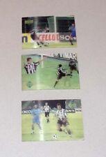 3 Trading card Living Pictures JUVENTUS F.C. album 1997 UPPER DECK calcio
