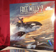 New! 'FREE WILLY 2' -1995 Family Cult Hit on 12-Inch AC-3 Laser Disc, SEALED