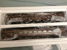 MTH O Scale Premier 20-6657 PRR Streamlined Sleeper/Diner Set New In Box