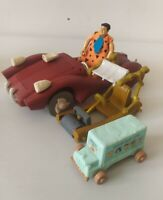 The Flintstones Movie Toy Bundle Fred- Le Sabre Tooth 5000 Car- 2 small vehicles