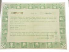Rolex certificate serial number 3.950.778 genuine garanzia certificato originale