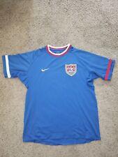 Vintage Nike USA Soccer Jersey Sphere Dry Blue Mens Size L