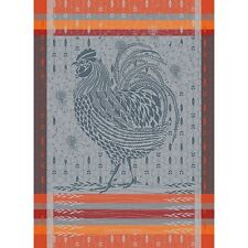 Garnier Thiebaut French Country Kitchen Towel LE COQ ROOSTER Chicken New 2017