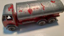 Matchbox Lesney no.11-B Petrol Tanker 1958 grey wheels