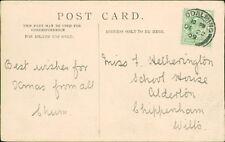 Miss Hetherington. School House, Alderton, Wiltshire   1909   RM.503