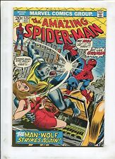 The Amazing Spider-Man #125 - The Man-Wolf Strikes Again! - (7.5) 1973