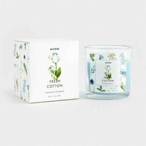 AVON FRESH COTTON CANDLE - BNIB
