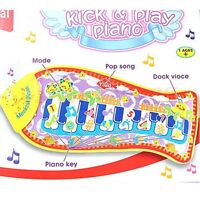 Fish Animal Kid Music Mat Touch Kick Play Fun Piano Baby Music Toys Child Gift