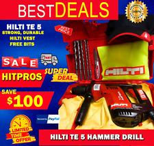 Hilti Te 5 Preowned Original Strong Durable Free Bits Hilti Vest Fast Ship