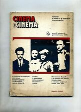 CINEMA E CINEMA N.6 - MATERIALI DI STUDIO E INTERVENTO CINEMATOGRAFICI# Marsilio