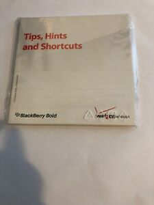 BLACKBERRY BOLD  USER'S TOOL MANUAL AND SMALL DISC