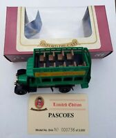 OXFORD DIECAST LIMITED EDITION AEC BUS - PASCOES - NO.736 OF 3000