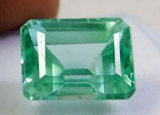 6.60Cts. Natural muzo mined emerald cut Colombian Emerald Loose Gemstone 3759