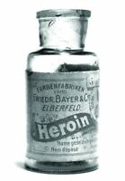 Antique Heroin by Bayer Bottle Photo 98 Oddleys Strange & Bizarre 5 x 7