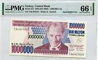 TURKEY 1,000,000 LIRA 1970 ND 2002 CENTRAL BANK PICK 213 LUCKY MONEY VALUE $132