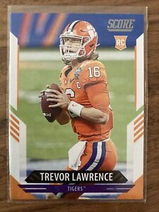 2021 SCORE TREVOR LAWRENCE ROOKIE RC #301 💥 Pack Fresh 💥
