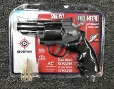 Crosman CO2 Dual Ammo Full Metal Revolver Best Air Pistol