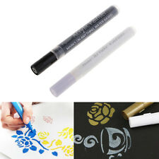 2x Waterproof Acrylic Paint Markers Pen for Glass,Metal, Wood,Ceramic,Fabric