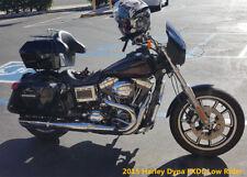 Universal Motorcycle Trunk Tour Pak Tail Box Luggage For Kawasaki Vulcan DMY