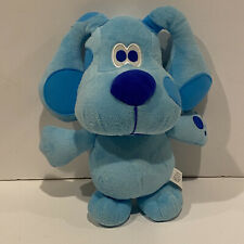 Fisher Price Blue's Clues Blue Talking Plush Stuffed Animal Toy 2003 Puppy Dog