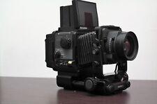 Fuji Fujifilm GX680 II 6X8 medio formato 120 100mm f 4.5 + battery pack AA stilo