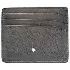 Montblanc Meisterstuck Sfumato Grey Wallet 6 Credit Cards 118365 118365