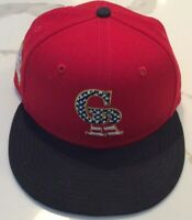 Colorado Rockies Fourth Of July Commerative Baseball Hat Size 6 7/8 6 7/8ths