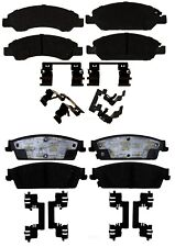 Front and Rear Ceramic Brake Pads Kit ACDelco for Cadillac Escalade Chevy GMC