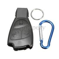 3 BUTTON REMOTE KEY FOB CASE SHELL & KEYRING FOR MERCEDES BENZ B C E S Class ML