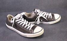 CB424 Converse All Star Classic Chucks Low-Top Sneaker Gr. 43 Canvas schwarz
