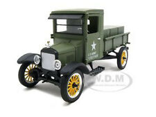 1923 FORD MODEL TT MILITARY ARMY GREEN 1:32 DIECAST BY SIGNATURE MODELS 32521