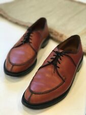 Keith Highlander Brown Leather Oxford Men's Shoes Laces Size 10.5