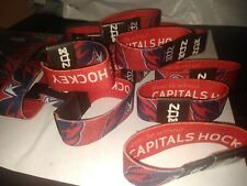 ZOX Wrist Strap WASHINGTON CAPITOLS Verizon sga Wristband NEW rare Serial #'d