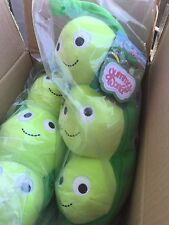 Kidrobot Yummy World Heidi Kenny Large Pea Pod Plush 16-inch