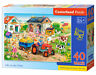 Castorland B-040193-1 - Life On The Farm, Puzzle 40 Teile Maxi - Neu